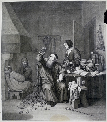 'The Physician', 1760s.