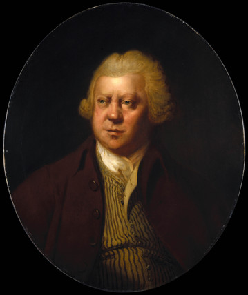 Richard Arkwright, British inventor of textile machinery, 1790.