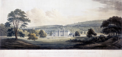 'View in Callendar Park', Stirling, Scotland, c 1817.