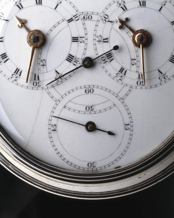 Sidereal verge watch, c 1776.