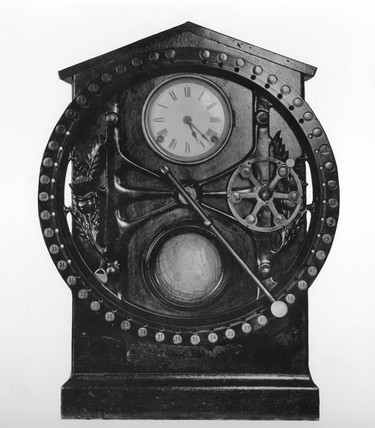 Dey dial recorder, early 20th century.