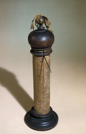 Column sundial, 17th century.
