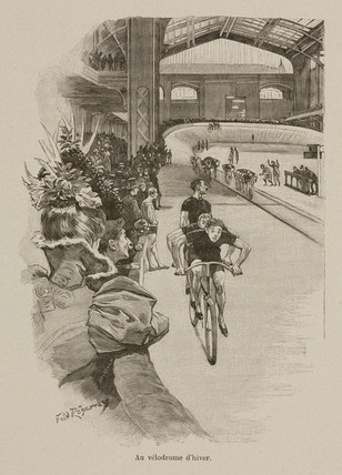 'The velodrome in winter', 1898.