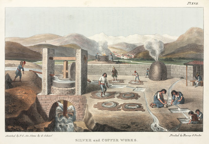 'Copper and Silver Works', Chile, 1820-1821.