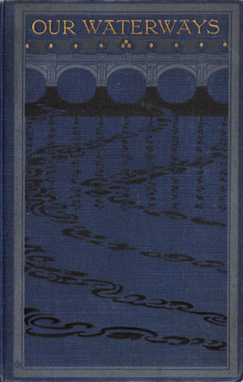 Cover to a book on inland navigation, 1906.