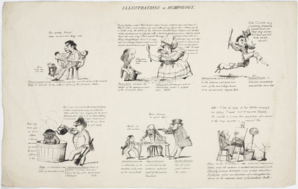 'Illustrations of Bumpology', 1805-1830.