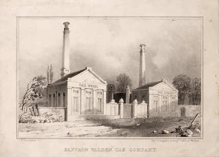Saffron Waldon Gas Company, Essex, 19th century.