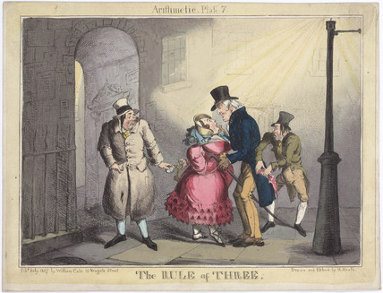 'The Rule of Three', 1827.