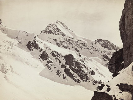 Peaks on the Hamta Pas, Himalayas, India, c 1850-1900.