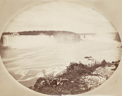 Niagara Falls from the Canadian side, c 1850-1900.