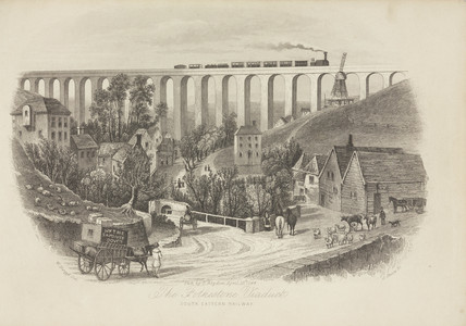 'The Folkestone Viaduct', Dover, 19 April 1844.