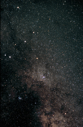 Northern Milky Way (Constellation of Scorpius)