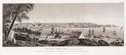 Mouth of the Parramatta River, Sydney, New Holland, 1801-1803.