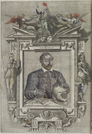 Agostino Ramelli, Italian engineer and inventor, 1588.