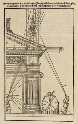 Proportions of clasical architecture, 1548.