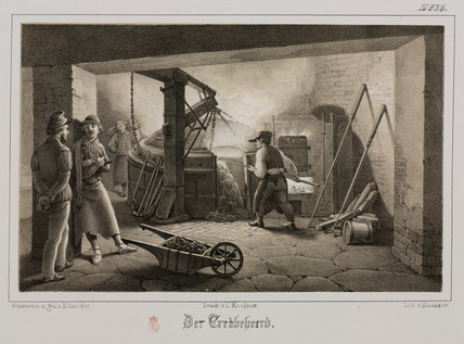 Foundry, Germany, c 1851.