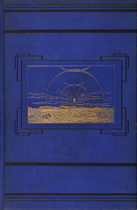 Cover to 'New lands within the Arctic circle', 1874.