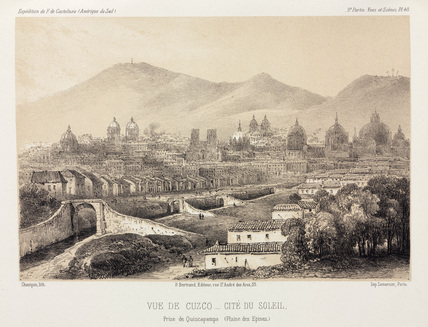 Cuzco, City of the Sun, Peru, c 1843-1847.