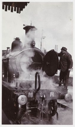 Midland Railway locomotive, 1904.