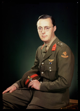 'Prince Bernhard of the Netherlands', c 1944.