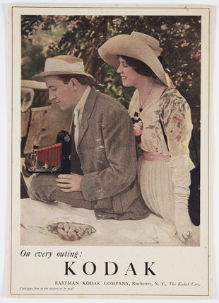 'On Every Outing - Kodak', c 1920s.
