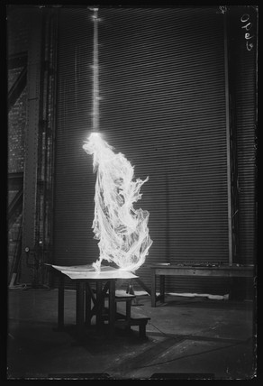 Electrical experiment, 1933.