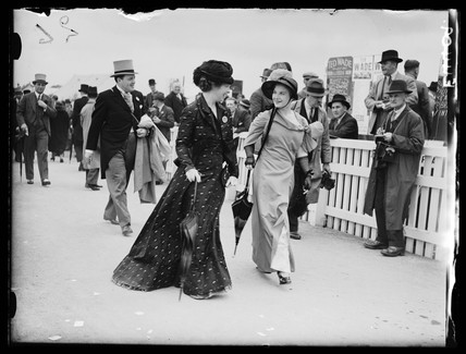 Two women at Royal Ascot, 1935.