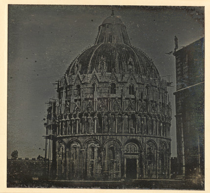 'Pisa, The Baptistry and portion of the Cathedral...' 1841.