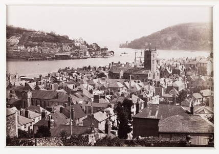 'Dartmouth, from Mount Boone, No. 2', c 1880.