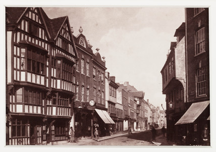 'Tewkesbury, High Street', c 1880.