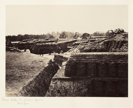 'Federal Battery No1...', Virginia, USA, May 1862.