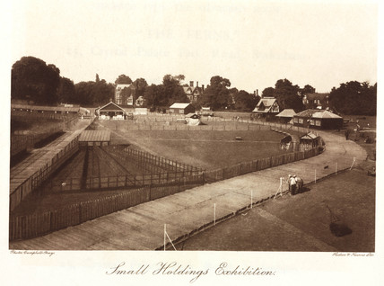 'Small Holdings Exhibition', Crystal Palace, Sydenham, c 1911.