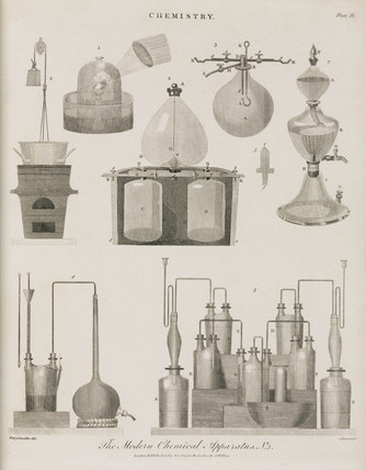 'The Modern Chemical Apparatus No 3', 1800.