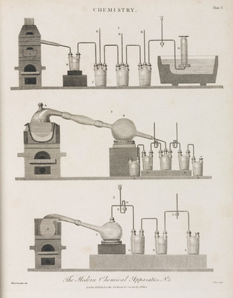 'The Modern Chemical Apparatus No 5', 1800.