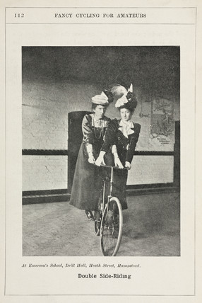 'Double Side-Riding', 1901.