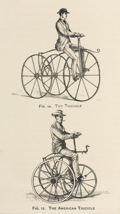 Tricycles, 1869.