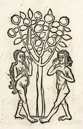 Adam and Eve under the Tree of Knowledge, 1497.