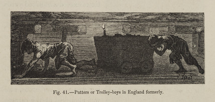 'Putters or Trolley-boys in England formerly', 1869.