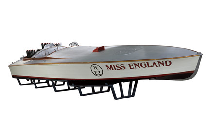 'Miss England', racing motor boat, 1929.