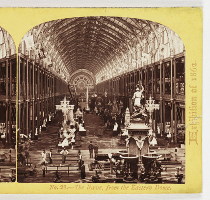 The Nave, From the Eastern Dome', 1862.