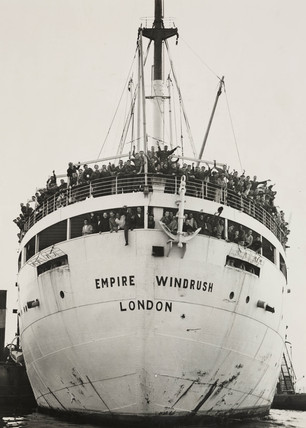 The 'Windrush' arrives from Jamaica, 21 June 1948.