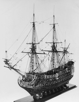 HMS 'Loyal London', 1666.