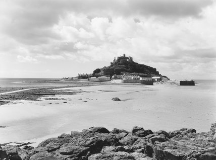 St Michael's Mount, Cornwall, 1935.