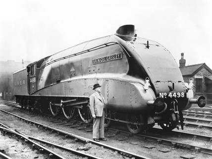 Locomotive number 4498, 1937