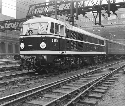Electric locomotive, 1957