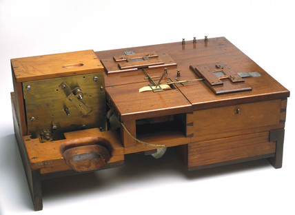 Cowper's original writing telegraph, 1878.