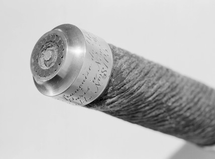 Sample of Siemens submarine cable, 1879.