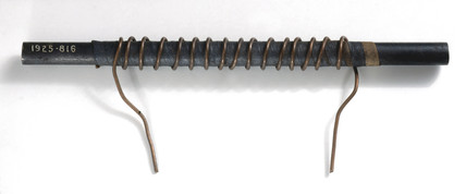 William Sturgeon's first electromagnet, 1825.