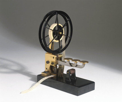 Wheatstone tape punch, 1858.