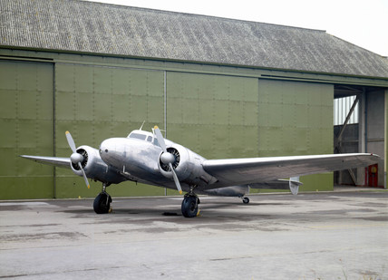 Lockheed 10A Electra, serial no 1037, 1935.